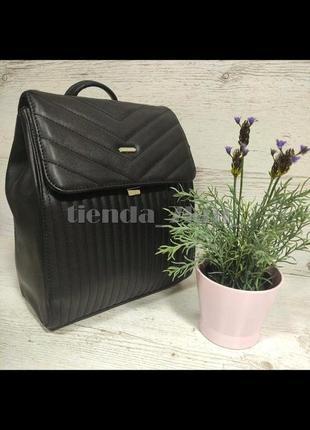 Стильный городской рюкзак david jones 6158-2 черный
