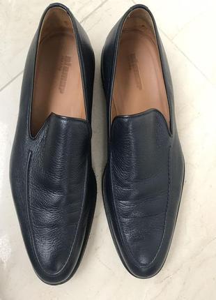 Туфли кожаные мужские stemar. италия, новые!