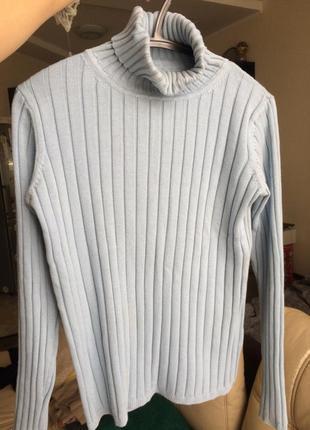 Базовый плотный гольф свитер