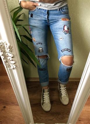 Модные джинсы jack&jones 28