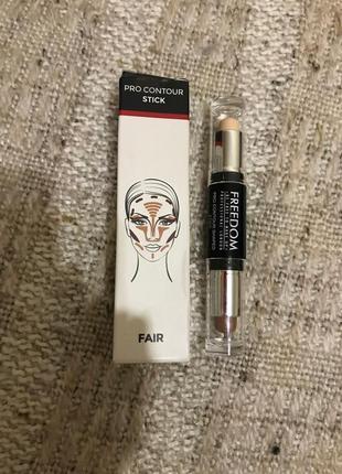 Контур до обличчя pro contour stick freedom make up
