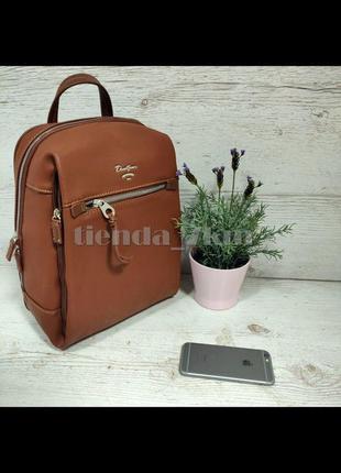 Городской полуспортивный рюкзак david jones cm5343 рыжий