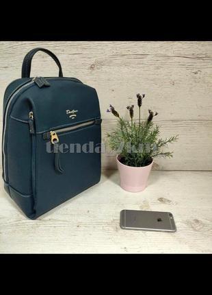 Городской полуспортивный рюкзак david jones cm5343 бирюзовый