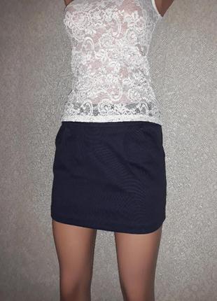 Костюм:блузка+юбка xxs