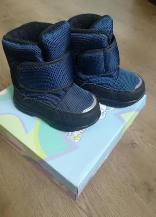Мембранные детские сапоги ботинки фламинго 72м-qk-0553