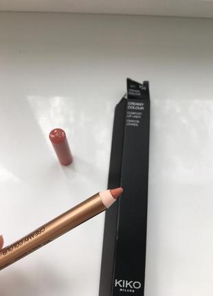 Kiko milano creamy colour карандаш для губ