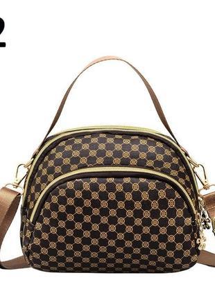 Жіноча сумка оригінальна сумочка кросс-боди 358