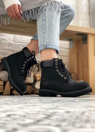 Ботинки timberland 6 inch premium black