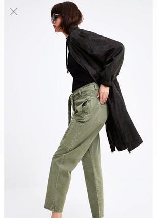 Новые стильные брюки zara, p.36