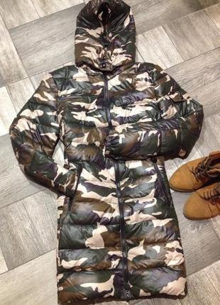 Камуфляжная итальянская  куртка ,по супер цене🍁