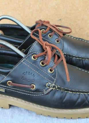 Ботинки urban jungles кожа германия 41р топсайдеры туфли