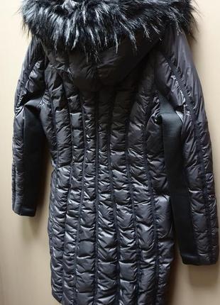 Американская дизайнерская женская куртка пуховик пальто zac zac posen. новая. скидка!