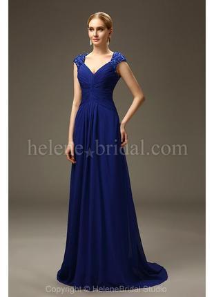 Шикарное  платье большого размера на свадьбу выпускной торжество / вечернее праздничное