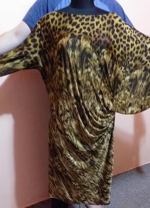 Gemma collins платье леопардовый принт раз.20/22