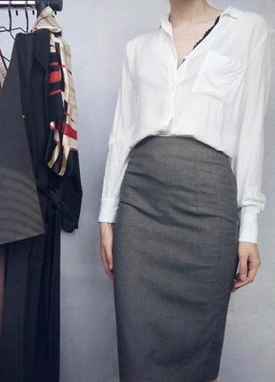 Недорогая идеальная классическая юбка от zara