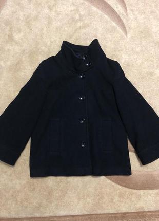 Пальто трапеция, размер 44