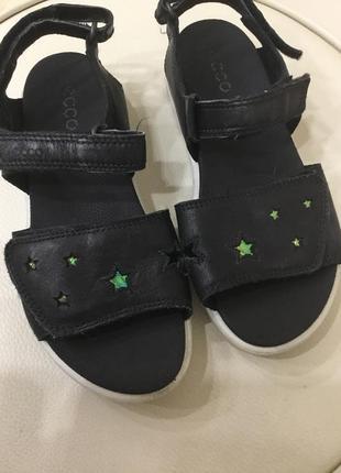 Кожаные сандали ессо 30 р