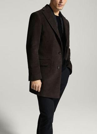 Пальто мужское massimo dutti