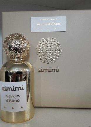 Simimi memoire d'anna (симими мемоир де анна) extrait de parfum, 100 мл