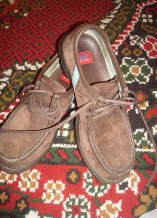 Sally  hansen шикарные туфли замш кожа.испания