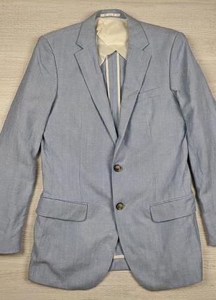 Пиджак блейзер из льна reiss s