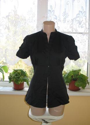 """Оригинальная черная рубашка/блузка  """"zara women"""""""