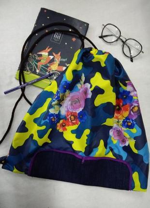 Рюкзак из плащевки складывается в кошелек на молнии