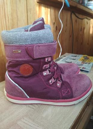 Зимние ботинки reima. размер 35.
