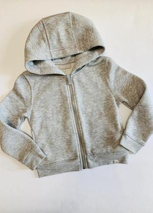 Теплая кофта худи next на девочку 6 лет