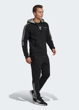 Утепленный спортивный костюм adidas m fz ho jog 3s ei6203-оригинал.