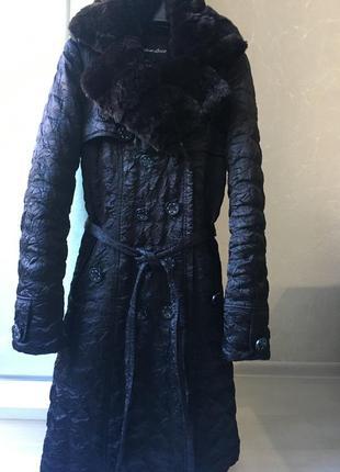 Женский пуховик, пальто