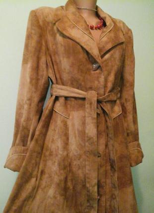 Длинное пальто morres