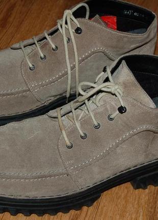 Кожаные утеплённые ботинки 44 р rieker германия хорошее состояние