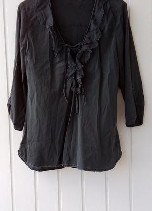 Шелковая блуза nile
