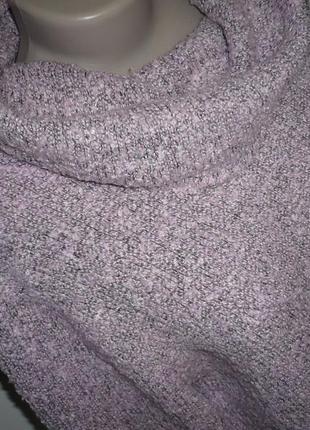Вязаный свитер с хомутом, р.22-24