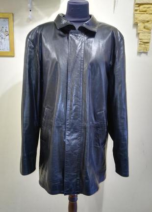 Scorpion 50p made in italy куртка мужская кожаная новая италия