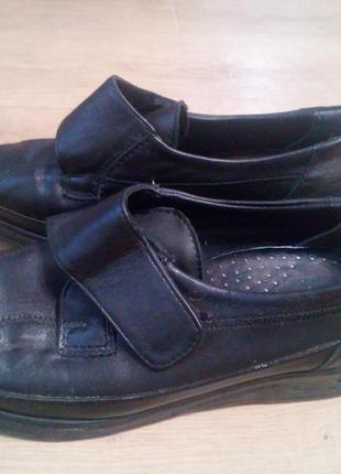 Шкіряні туфлі 38