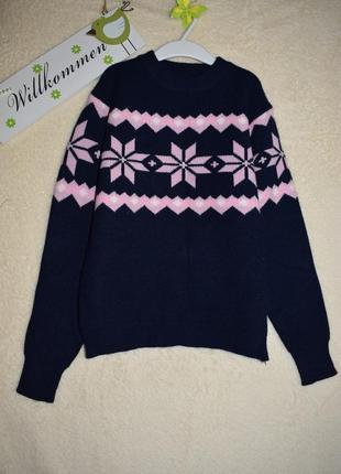 Классный свитерок для девочки.