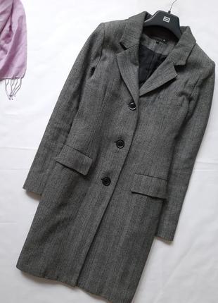 Пальто в мужском стиле, демисезонное