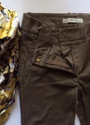 Классические брюки от zara basic