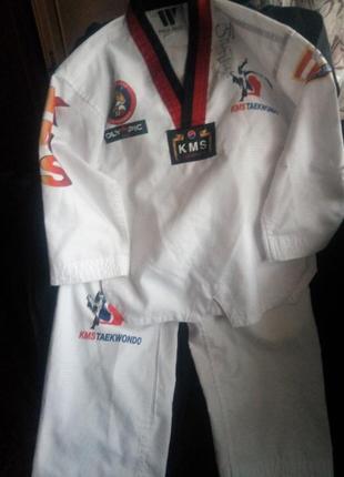 Кимоно костюм для тхэквондо на рост 120см