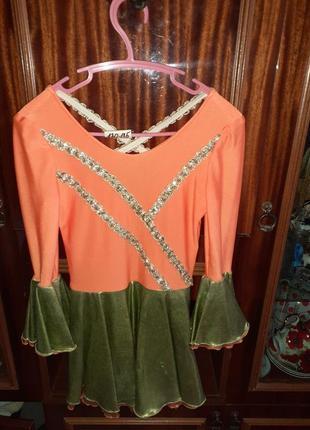 Продам платье для выступлений на танцах, фигурном катании