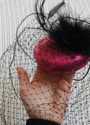 Таблетка капелюшок ретро стиль карнавал маскарад вечірка хелловін