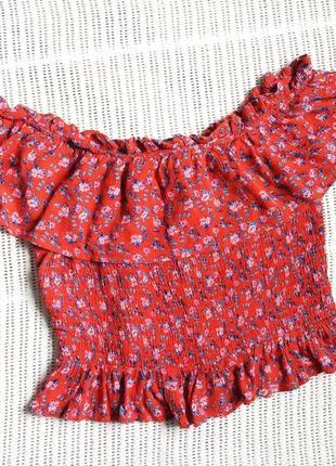 Блуза на плечі 16р.