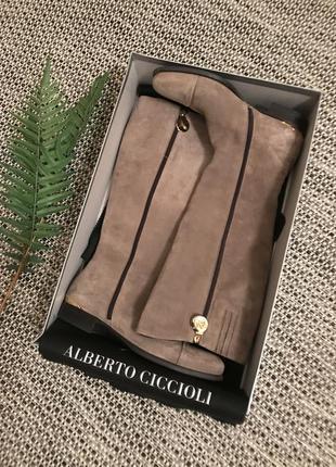 Женские итальянские сапоги , натуральная кожа, размер 39