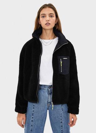 Куртка из искусственной овчины
