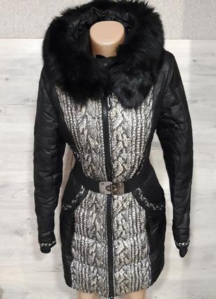 Зимний теплый пуховик peercat