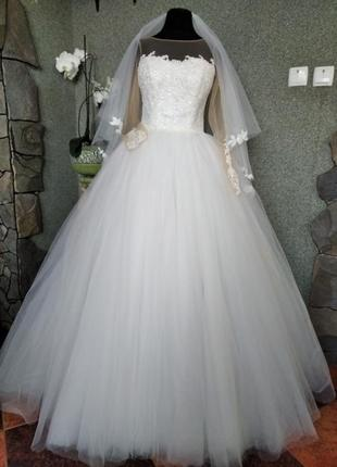 """Свадебное платье """"лолита"""""""