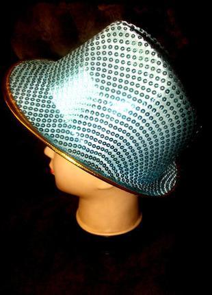 Шляпа маскарадная блестящая