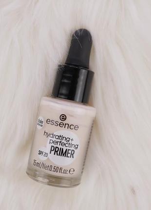 Увлажняющая и расглаживающая база под макияж essence hydrating + perfection primer